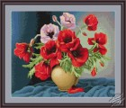 Vase with Poppies by Luca-S - B439