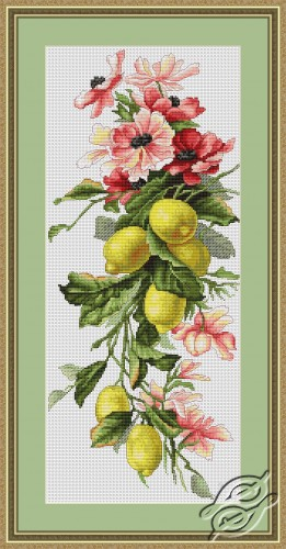 Flowers and Lemon by Luca-S - B210
