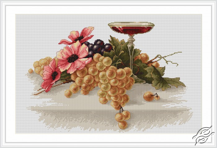 Flowers and Grapes by Luca-S - B214