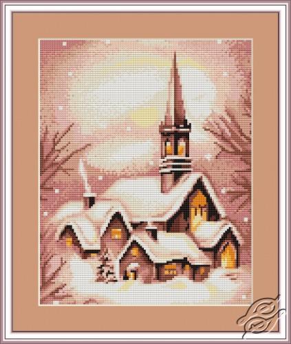 Snowy Church by Luca-S - B401