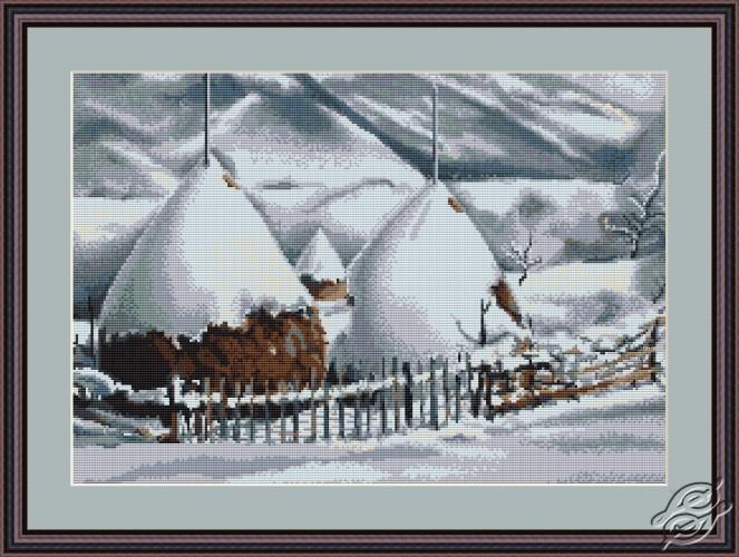 Snowy Haycocks by Luca-S - B331