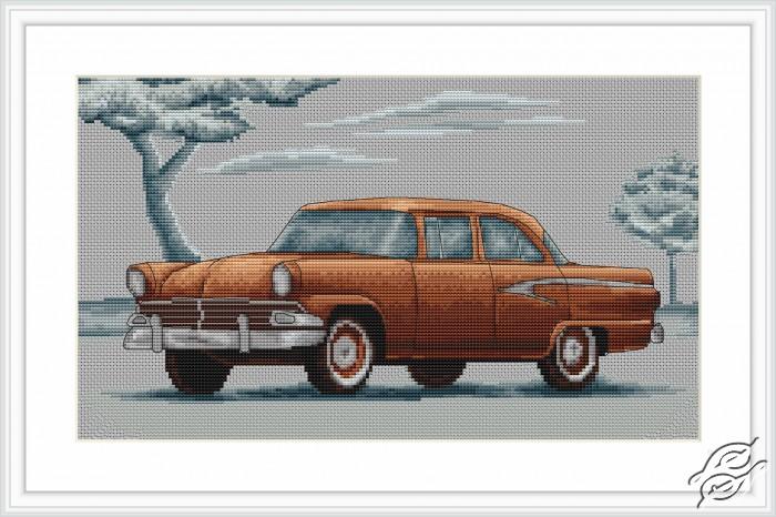 Retro Cars by Luca-S - B2234