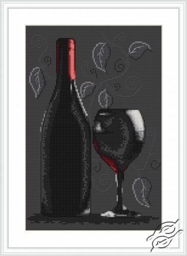 Bottle of Wine by Luca-S - B2220