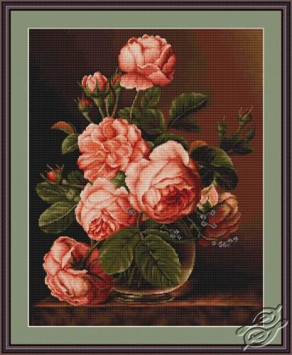 Vase of Roses by Luca-S - G488