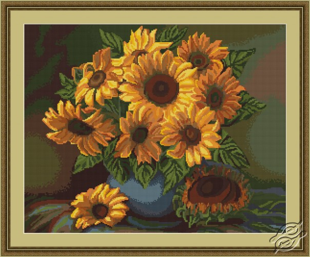 Vase with Sunflowers by Luca-S - G440