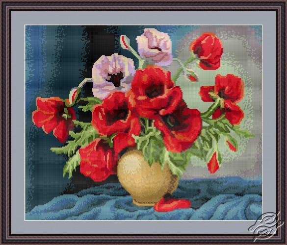 Vase with Poppies by Luca-S - G439