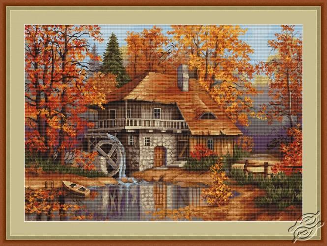 Autumn Landscape by Luca-S - G481