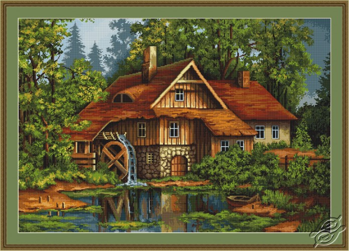 Mill in the Forest by Luca-S - G480