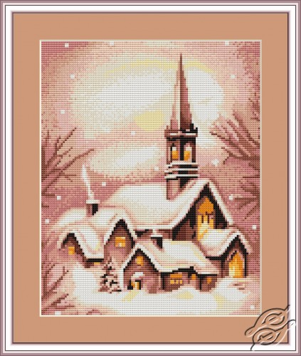 Snowy Church by Luca-S - G401