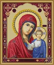 Icon of Kazan Mother of God by Luca-S - G446