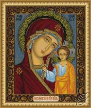 Icon of Kazan Mother of God by Luca-S - G436