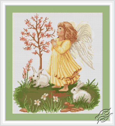 Praying Angel by Luca-S - B261