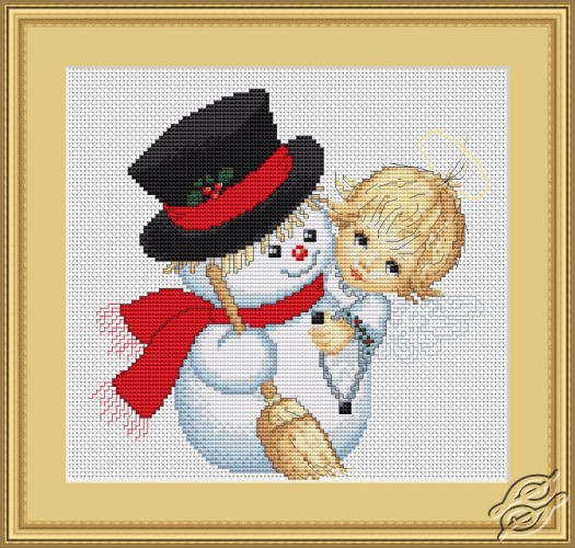 Angel and Snowman by Luca-S - B191