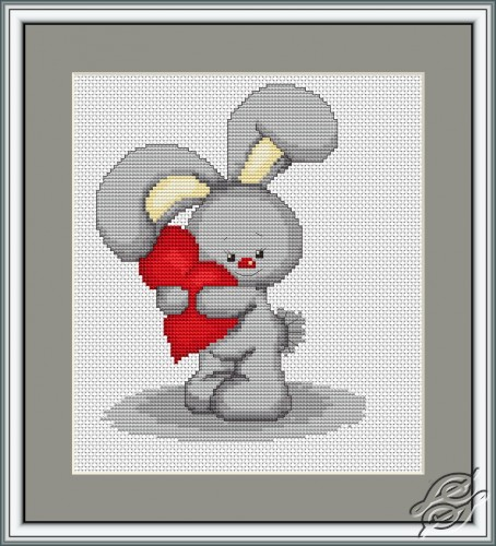Hare with a Heart by Luca-S - B175