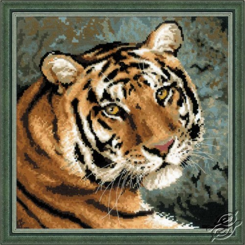 Siberian Tiger by RIOLIS - 1282