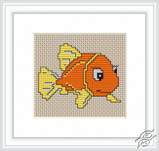 Orange Fish by Luca-S - B081