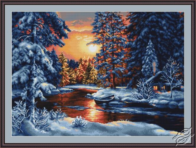 Winter Landscape II by Luca-S - B477