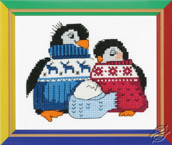 Friendly Family of Pengiuns by RIOLIS - HB128