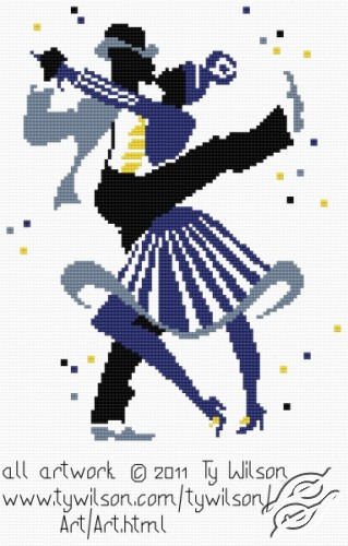 Ty Wilson - Lindy Hop by HaftiX - patterns - 01037