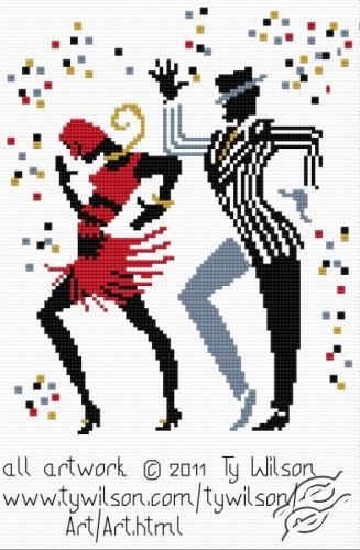 Ty Wilson - Cake Walk by HaftiX - patterns - 01074