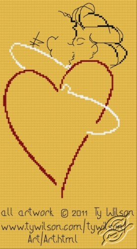 Ty Wilson - Heart Embrace by HaftiX - patterns - 01075