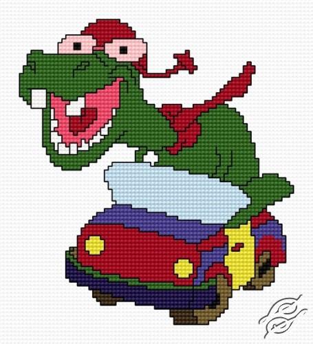 Motorised Dino by HaftiX - patterns - 01098