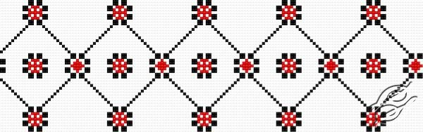 Ukrainian Embroidery - Ornament 120 by HaftiX - patterns - 00120