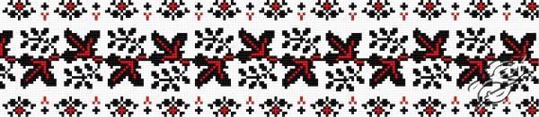 Ukrainian Embroidery - Ornament 122 by HaftiX - patterns - 00122