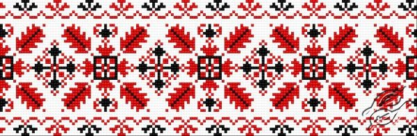 Ukrainian Embroidery - Ornament 123 by HaftiX - patterns - 00123