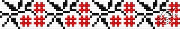 Ukrainian Embroidery - Ornament 125 by HaftiX - patterns - 00125