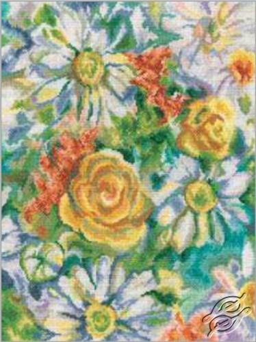 Daisy Watercolor by RTO - M243