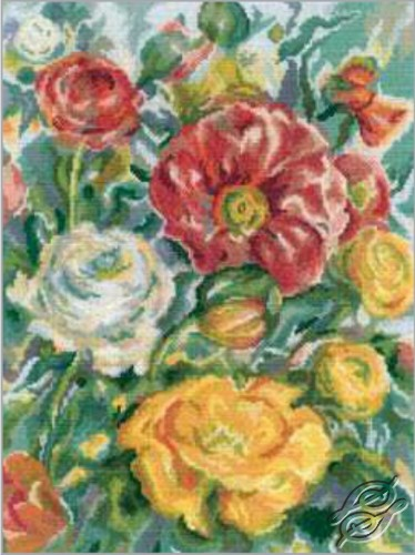 Roses Watercolor by RTO - M244