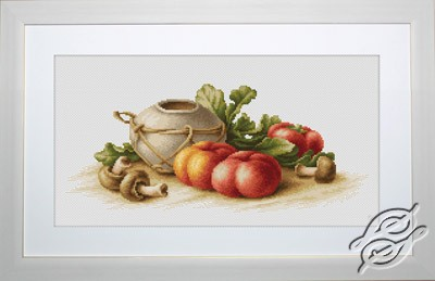 Still Life with Vegetables by Luca-S - B2249