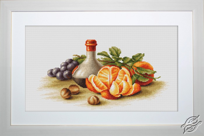 Still Life with Oranges by Luca-S - B2250