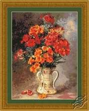 Vintage Orange Blossoms by Kustom Krafts - 98883