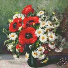 Poppies & Daisies by Kustom Krafts - 98973