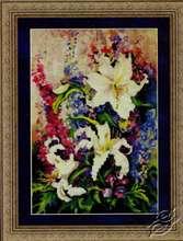 Lilies & Delphiniums by Kustom Krafts - 99473