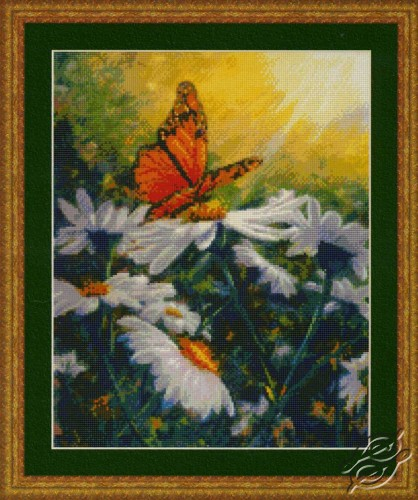 Butterfly Daisies by Kustom Krafts - 99523