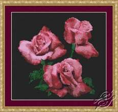 Plum Perfection Roses by Kustom Krafts - NNT-081