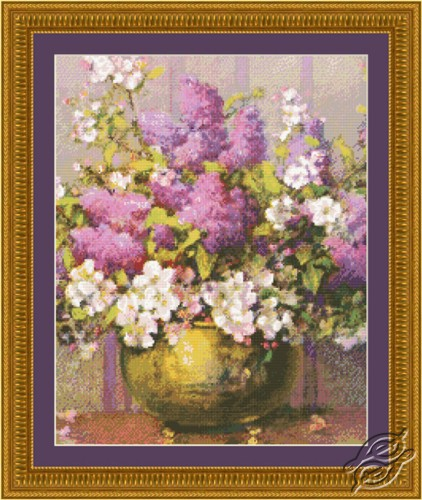 Spring Lilacs and Blooms by Kustom Krafts - 98953