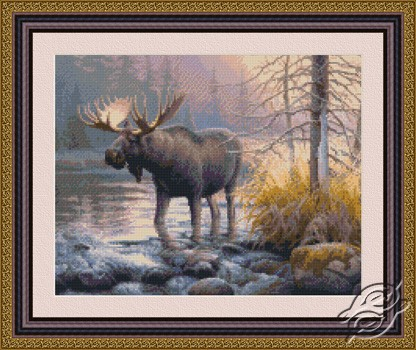 Power in the Mist - Moose by Kustom Krafts - 73023