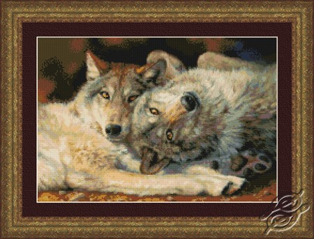 Happy Nappers - Wolves by Kustom Krafts - 22023