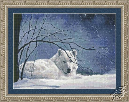 Snowy- White Wolf by Kustom Krafts - 98663