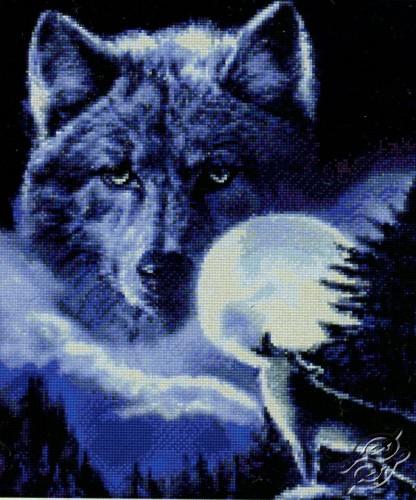 Spirit of the Wolf by Kustom Krafts - DAW-008