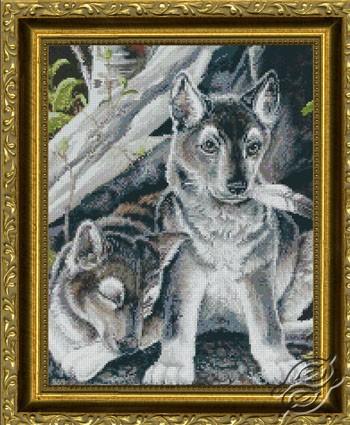 Wolf Pups by Kustom Krafts - NNT-044