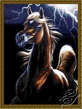 Storm Encounter - Horse by Kustom Krafts - SLO-004