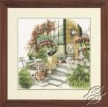 Terrace in Autumn Bloom by Lanarte - PN-0008016