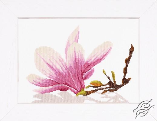 Magnolia Twig With Flower by Lanarte - PN-0008162