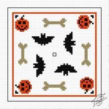 Biscornu Halloween II by HaftiX - patterns - 01139