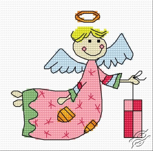 Gift Angel of Books by HaftiX - patterns - 01140